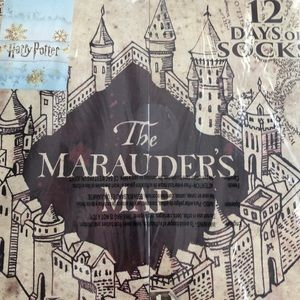 Other - NWT Harry Potter 12 days of socks